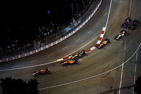 Sainz Hulkenberg Singapur F1 2019
