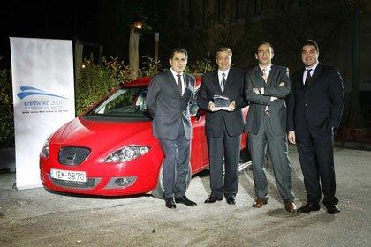 El Seat León es el coche del año en Grecia