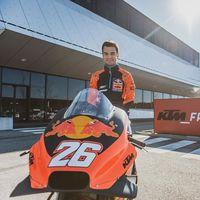 Dani Pedrosa ya ha puesto su dorsal 26 en la KTM de MotoGP, aunque no le veremos rodar hasta mayo