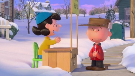 Escena Carlitos Y Snoopy