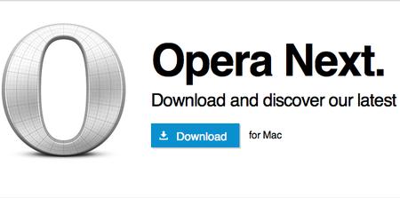 Opera Next: La nueva versión de Opera con motor WebKit