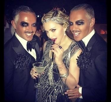 Toma fiestón de cumpleaños que se preparó Madonna
