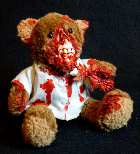 Peluches zombies: adios, inocencia infantil
