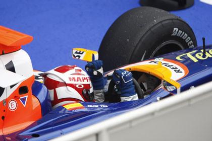 Segunda victoria de Javi Villa en la GP2