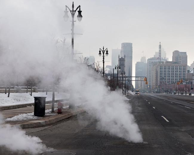 Untitled Cityscape Detroit Mi
