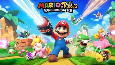 Esta es la primera imagen del bizarro  'Mario + Rabbids Kingdom Battle' que llegará a  Nintendo Switch