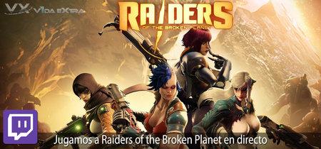 Streaming de Raiders of the Broken Planet a las 17:00h (las 10:00h en Ciudad de México)