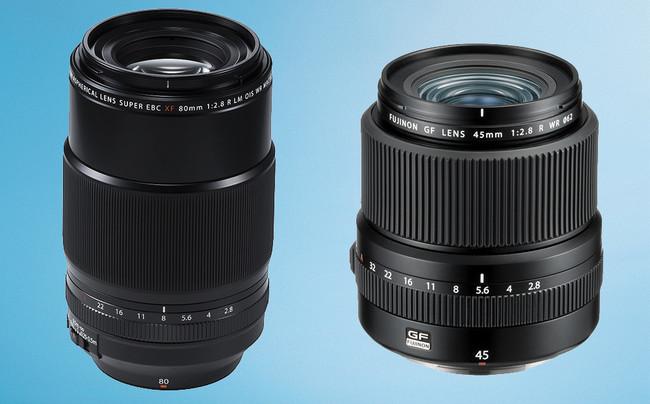 Fujifilm presenta los nuevos Fujinon XF80mm ƒ2.8 LM OIS WR Macro y GF45mm ƒ2.8 R WR, entre otras novedades