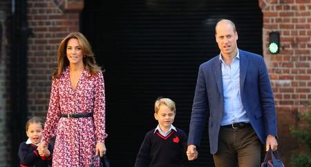 Las flores también son para el otoño y así lo demuestra Kate Middleton con este precioso vestido