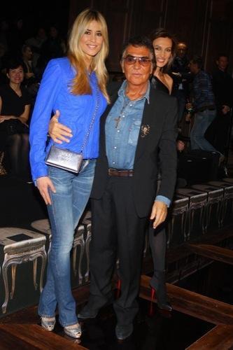 Celebrities en la Semana de la Moda de Milán, Elena Santarelli