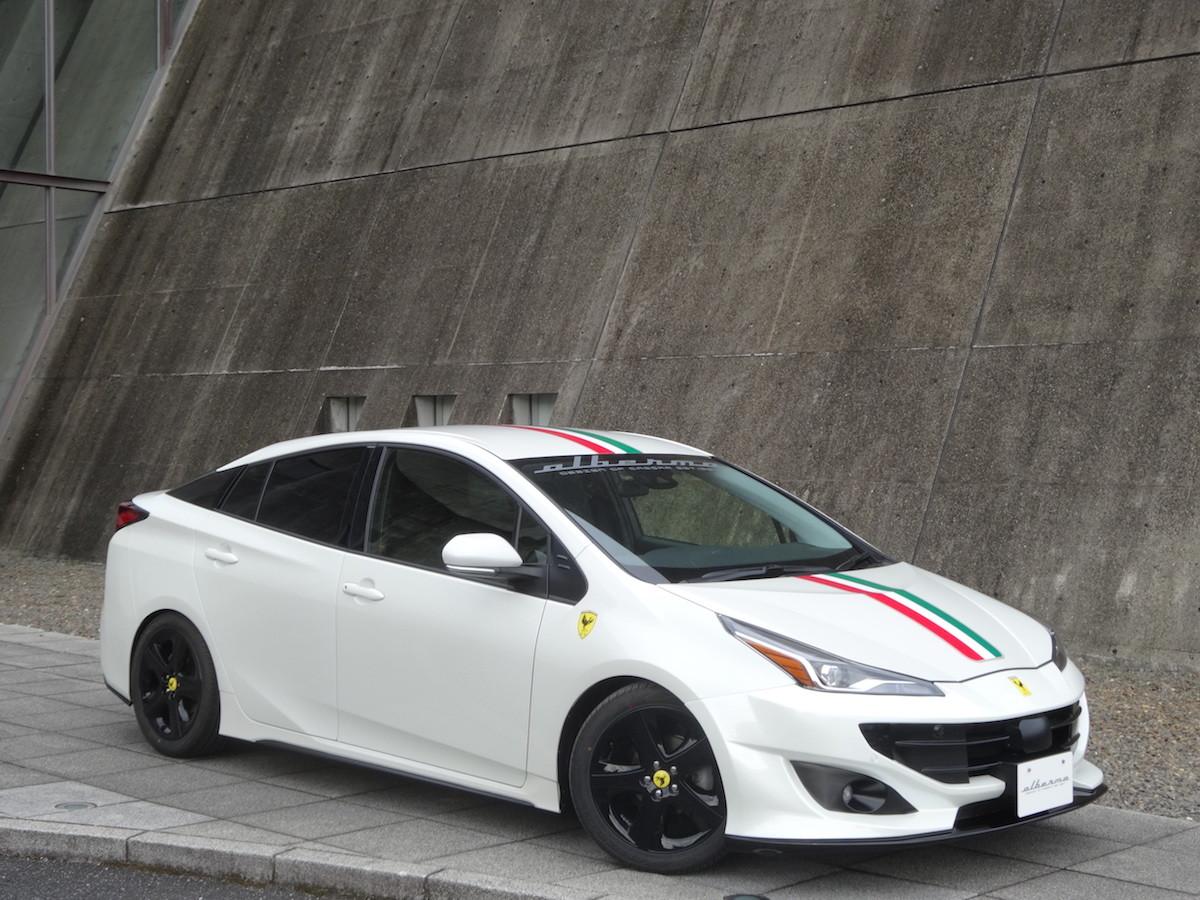 Foto de Toyota Prius convertido a Ferrari FF (5/33)