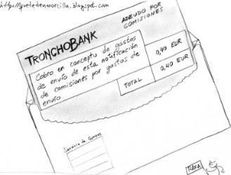 comisiones bancos