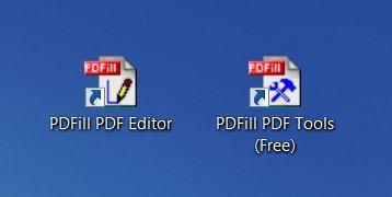 PDFill te permite modificar un PDF gratis