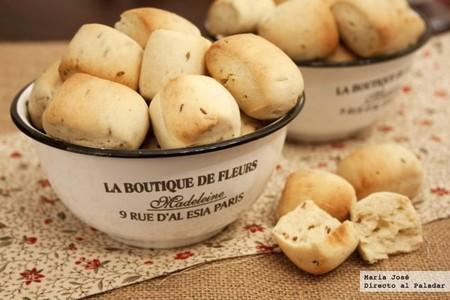 Bocaditos de pan con comino: receta con Thermomix