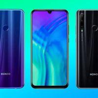 Honor 20 Lite: el pequeño de los Honor 20 ya ofrece triple cámara y 128GB de espacio interno