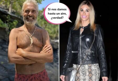 Kiko Hernández desvela en 'Sálvame' la verdadera relación entre Agustín Bravo y Techi Cabrera (y que el superviviente no quiere que se sepa)
