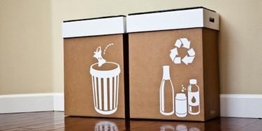 Cubos de basura especiales para fiestas