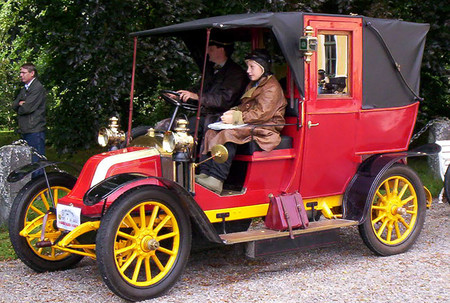 Renault Type Ag 1910 Taxi Paris