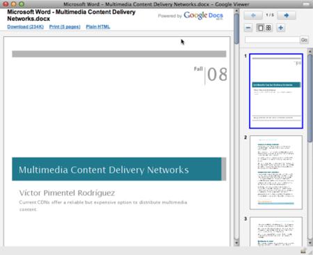 Gmail integra un completo visualizador de PDFs