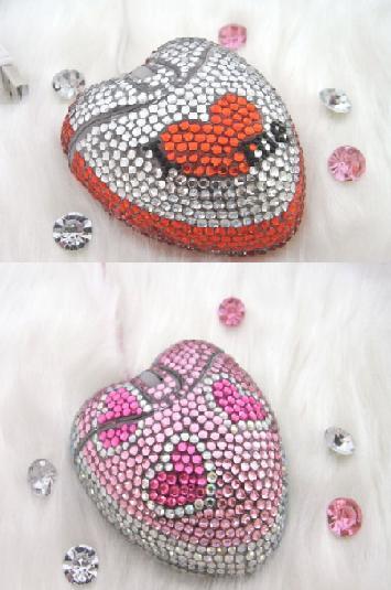San Valentín: ratones románticos y con mucho brillo