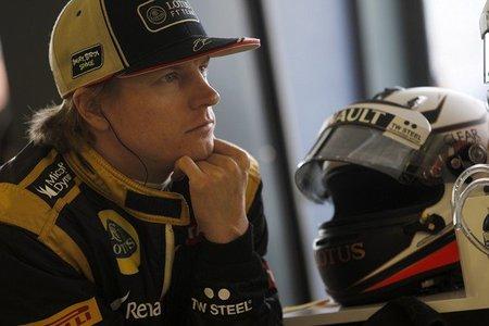 Kimi Raikkonen descontento con la dirección asistida del Lotus