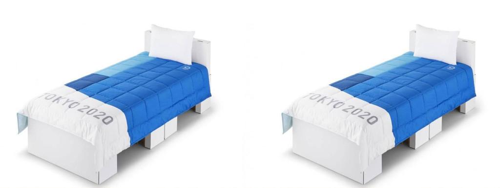 Los atletas de los Juegos Olímpicos de Tokio dormirán en camas de cartón para hacer más sostenible esta edición