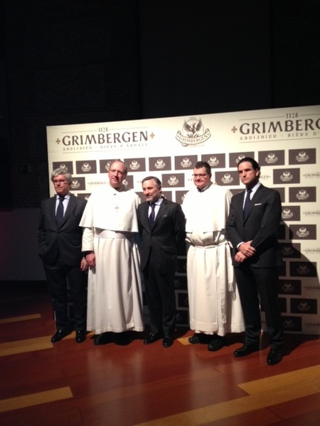 Abades de Grimbergen y Directivos Mahou