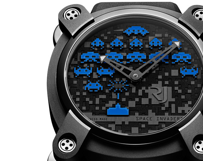 RJ Reloj Space Invaders