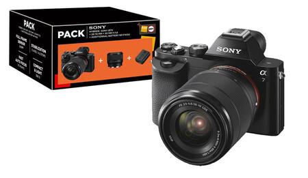 Sony A7 Pack Fnac 28 70 Y 50