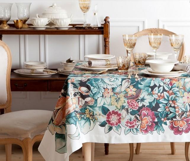Renueva tu mesa en las rebajas de zara home for Zara home manteles mesa