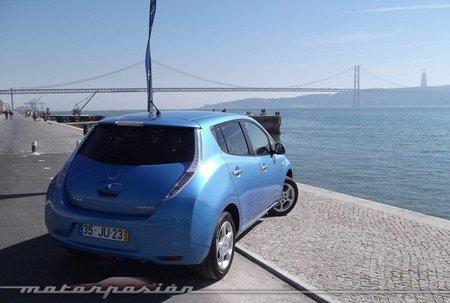 Nissan Leaf en Lisboa