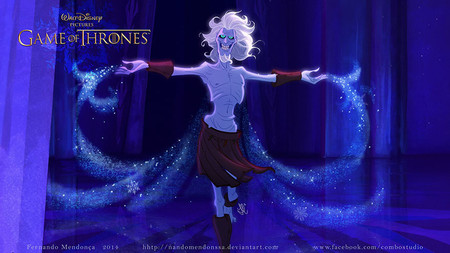 Game Of Thrones Disney Style Illustration Combo Estudio 2 5aafaa8ba7954 880