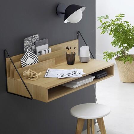 Mesa de escritorio de pared