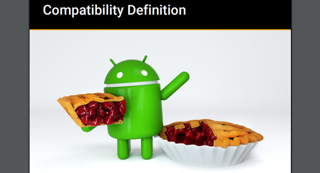 Android Pie Jpg Compatibility