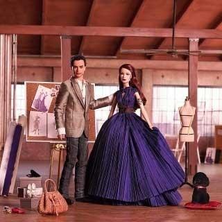 Zac Posen viste a Barbie y a Ken