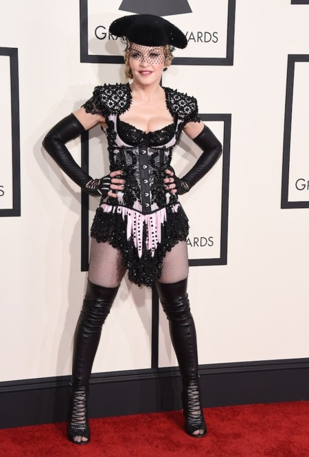Madonna Grammy Look