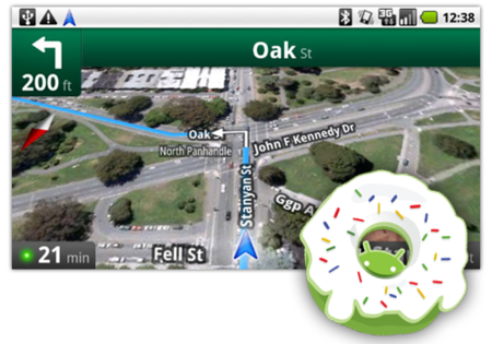 Google Maps Navigation disponible para Android 1.6