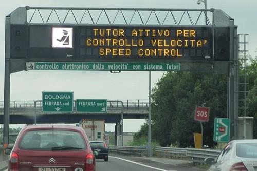 Italia se ha quedado sin radares de velocidad por una rocambolesca historia de patentes