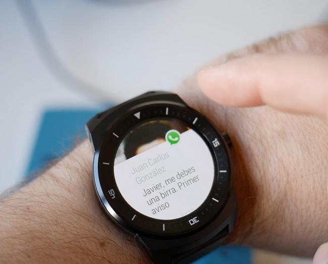 LG G Watch R, análisis