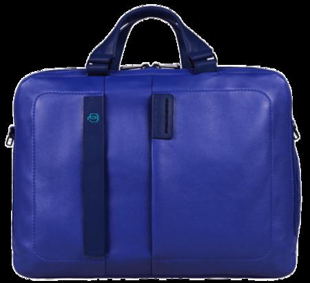 Piquadro Maletin Azul