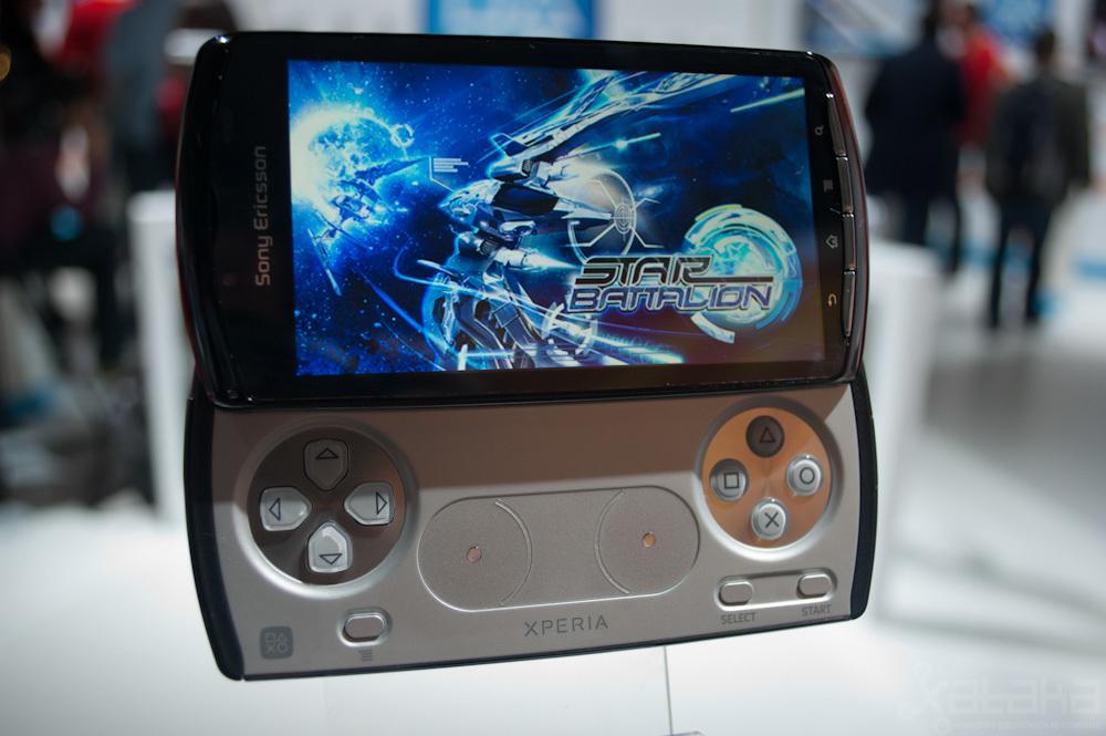 Sony Ericsson Xperia Play en MWC 2011