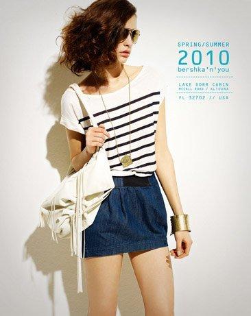 Bershka viste a la mujer joven este verano 2010: lookbook completo con todos los estilos I