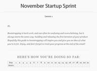 Iniciativas curiosas: 21times Startup Sprint