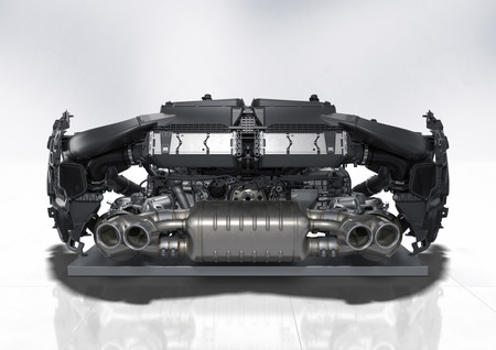 Porsche 911 992 motor