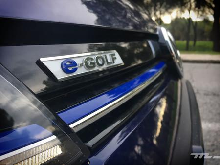 Volkswagen e-Golf parrilla