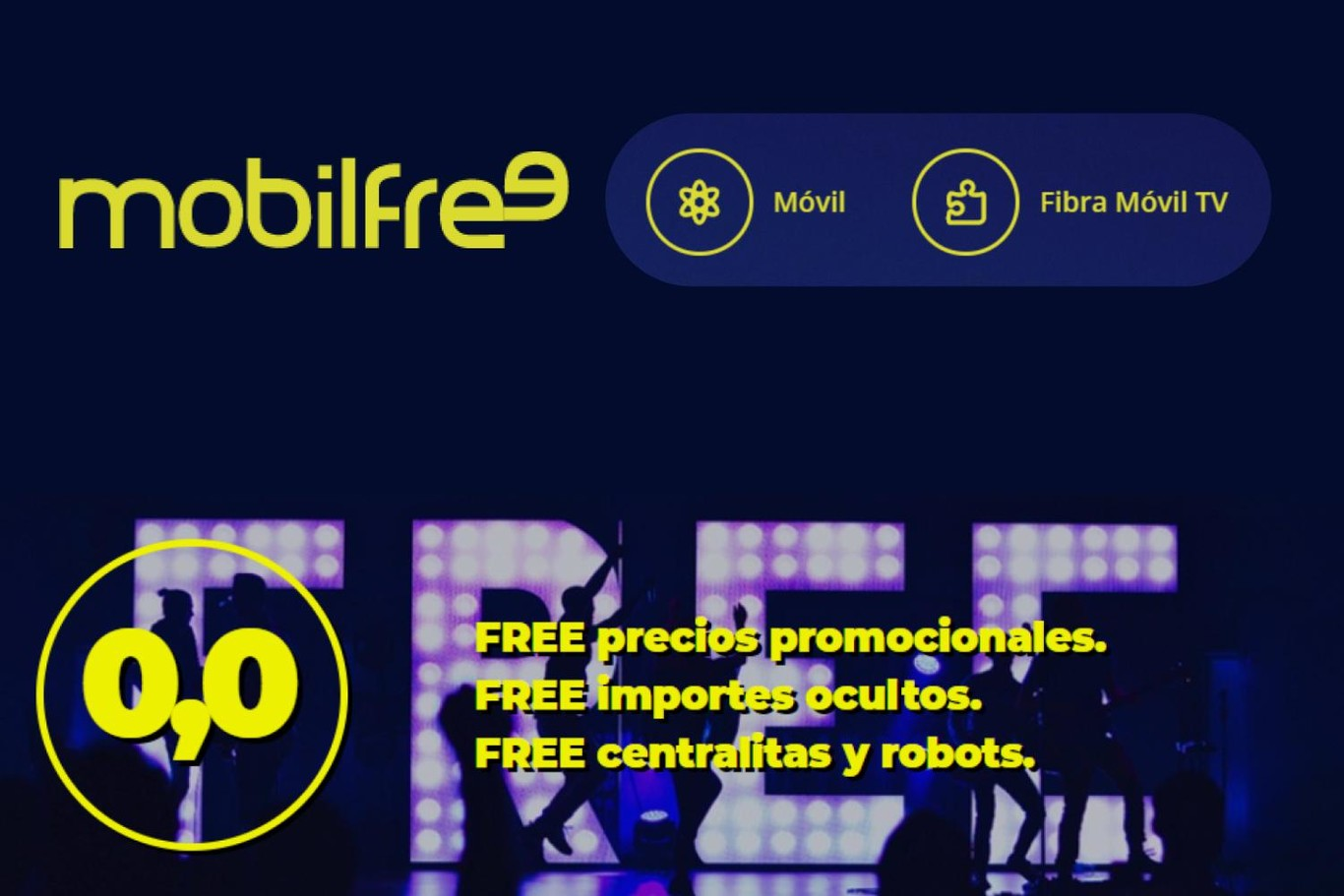 Mobilfree estrena tarifas móviles con hasta 60 GB y hace definitiva su fibra sin permanencia
