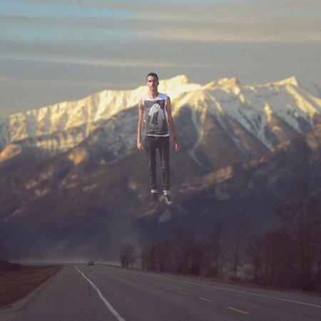 Levitación montaña