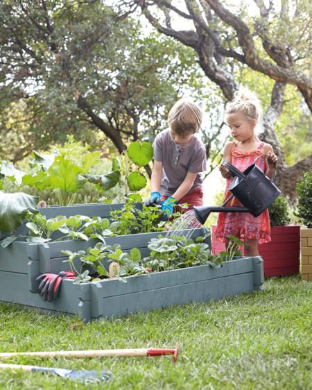 Peque os hortelanos montamos un huerto en casa y los - Pequeno huerto en casa ...
