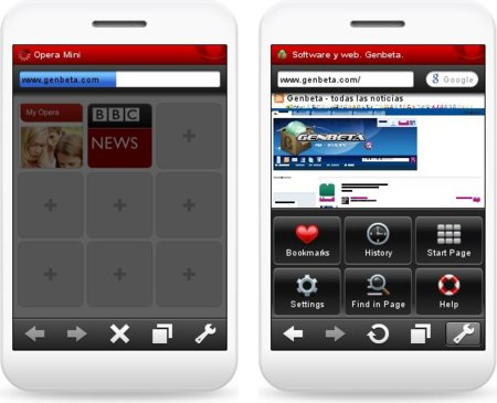 Opera para dispositivos móviles supera los 100 millones de usuarios