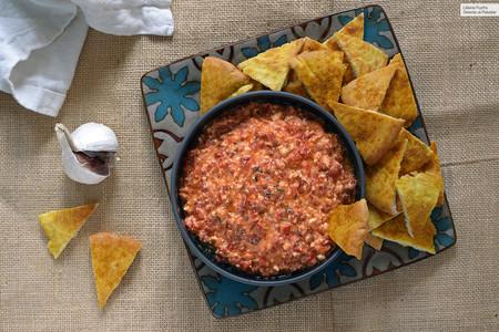 Htipiti o crema untable de pimientos asados y queso feta